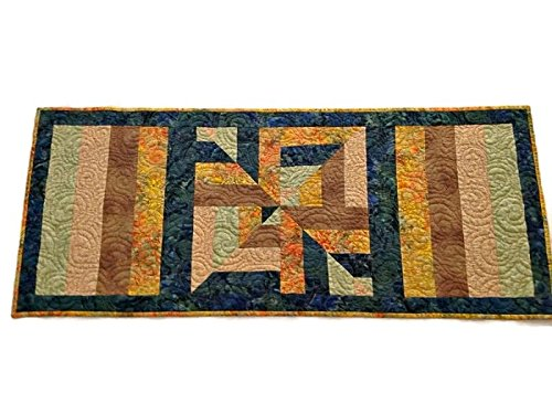 Fabulous Amazon Com Quilted Table Runner Handmade Modern Table Download Free Architecture Designs Xaembritishbridgeorg