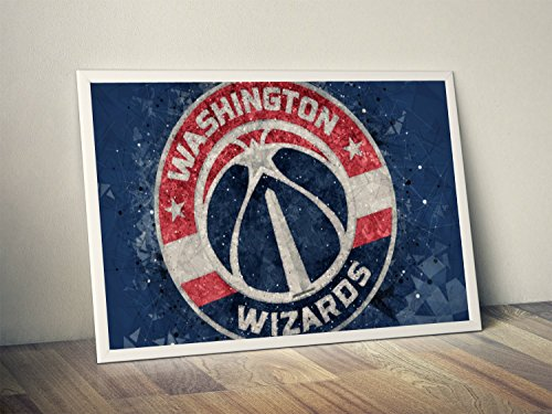 Washington Wizards Limited Poster Artwork - Professional Wall Art Merchandise (More (8x10)