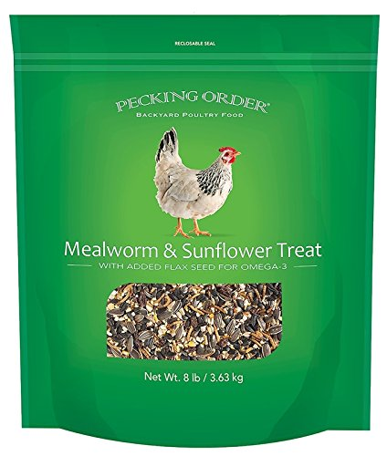 Pecking Order 9329 009329 Mealworm & Sunflower Treat, 8 lb.