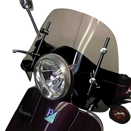 - Prima Windshield (Short_ Smoked); Vespa LX_GT_GTS