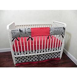 Nursery Decoration Inspiration Sports Nursery Crib Bedding