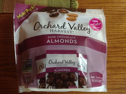 Orchard Valley Harvest - Dark Chocolate Almonds (15 x 1.0oz bags) ()