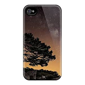 [sni5556egOP] - New Starry Sky Tree In The Wind Protective Samsung Galaxy Note2 N7100/N7102 Classic Hardshell Cases