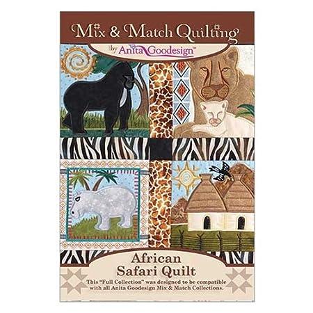 Anita Goodesign Embroidery Designs African Safari Quilt Amazon