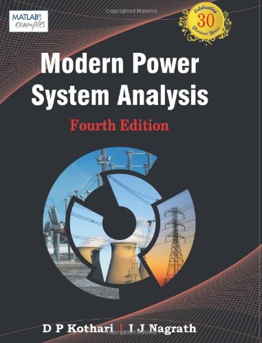 Modern Power System Analysis, 4e