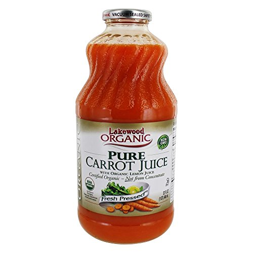 - Lakewood Organic Fresh Pressed Pure Carrot -- (1 X 32 FL OZ)