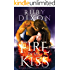 Fire In His Kiss: A Post-Apocalyptic Dragon Romance (Fireblood Dragon Book 2)