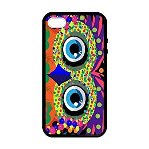 Pink Ladoo? Fancy Owl Fashionable Case for iPhone 5 5s case