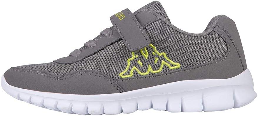 Kappa Follow, Zapatillas Unisex niños, Gris, 28 EU: Amazon.es: Zapatos y complementos