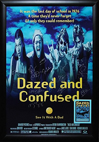 matthew mcconaughey dazed and confused poster