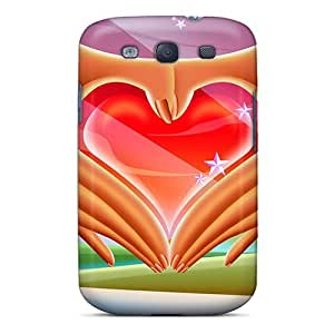 Galaxy S3 Case Cover With Shock Absorbent Protective SccoiGW5274zcjva Case