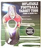 Inflatable Football Target Toss 44 Inches Tall