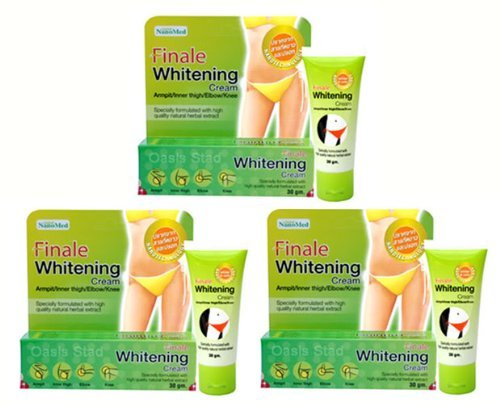 4 Boxes of Finale Whitening Cream Bikini Armpit Elbow Lightening ()