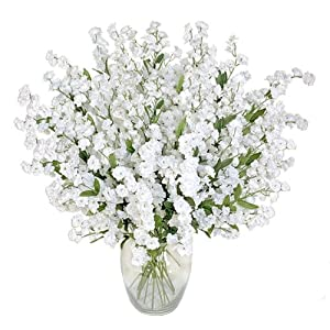 1920 Baby's Breath Gypsophila Artificial Silk Flowers _white 98