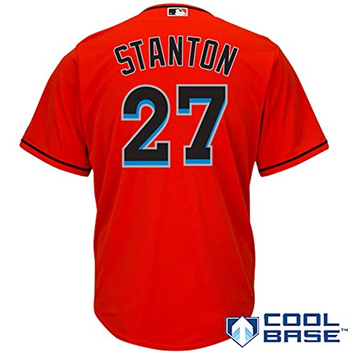 596dba0a41d Giancarlo Stanton Miami Marlins Jerseys
