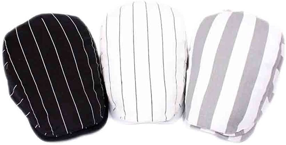 B-HOT Unisex Barett M/ütze Schieberm/ütze Flatcap Schirmm/ütze Sommer Caps Golferm/ütze gestreift