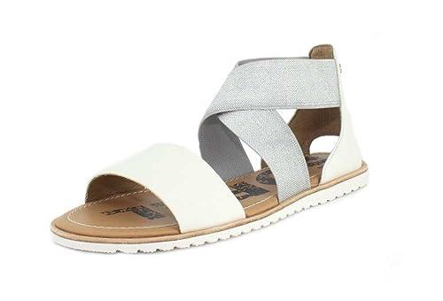 82b3ff20f72202 SOREL Women s Ella Sandal White 9 B US  Amazon.ca  Shoes   Handbags