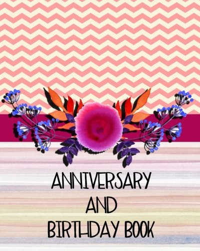Anniversary And Birthday Book: Personal Calendar Of Important Celebrations Plus Gift And Card Log (Perpetual Event Calendars)(V5)