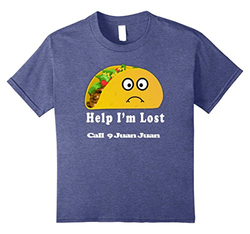 Kids Lost Taco Tuesday Shirt Taco Bout A Party Tacos And Tequila 8 Heather Blue