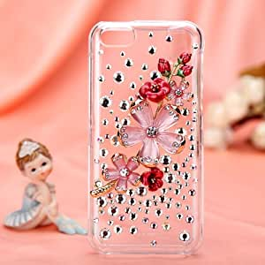 MYBAT True Babystars Bouquet Crystal 3D Diamante Protector Cover (with Package) for APPLE iPhone 5C