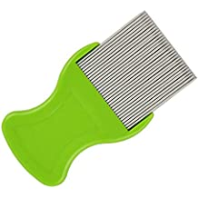 Dog Tear Stain Comb, QXTInc Extra Fine Tooth Remover (Rake Gently & Effectively Gets Rid of Crusty, Mucus, and Gunk Around Your Pets)