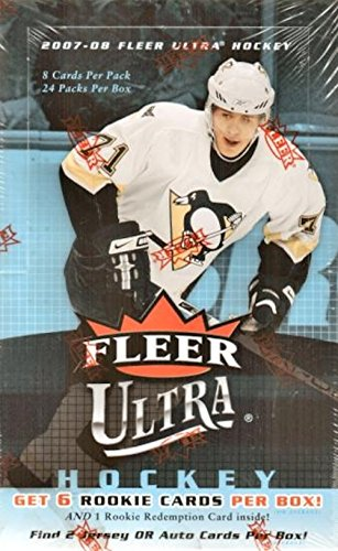 2007/08 Fleer Ultra NHL Hockey HOBBY box (Hockey Ultra Fleer Hobby Cards)