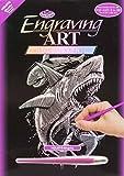 Royal Brush Holographic Foil Engraving Art Kit, 8 by 10-Inch, Dragon Spirit