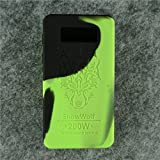 Case for SnowWolf Snow Wolf 200w Mod Silicone Skin Sleeve Skin Wrap Cover Sticker (green/black)