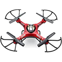 Annong JJRC H8D 4 Channel 2.4GHz 6 Axis Gyro RC Quadcopter Drone FPV monitor 2.0MP HD camera With Headless Mode with 3pcs Batteries