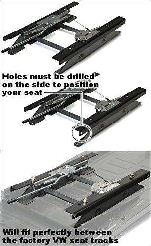 Narrow Low Rise Sliding Seat Mount Kit For Narrow Suspension Seats In Baja Bug Or Manx Dune Buggy