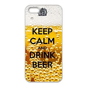 iPhone 4 4s Case Covers White Keep Calm Drink Beer H7ZO