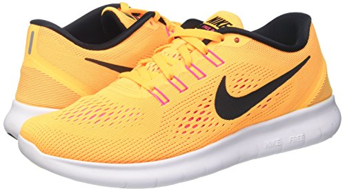 black Orange Blast Arancione Nike 831509 Run laser Donna pink Running Free Scarpe x1U61wOq7
