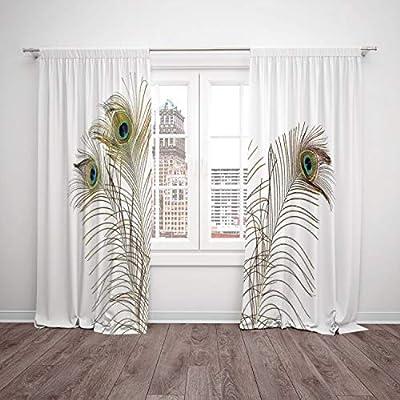 Juego de 2 cortinas de cocina para ventana, diseño de lunares de ...