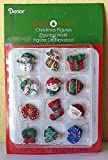 506 led bulb - Miniature Dollhouse Mini Christmas Tree 12 Asst 1