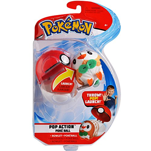 Pokemon Pop Action Poké Ball Launcher, Comes with