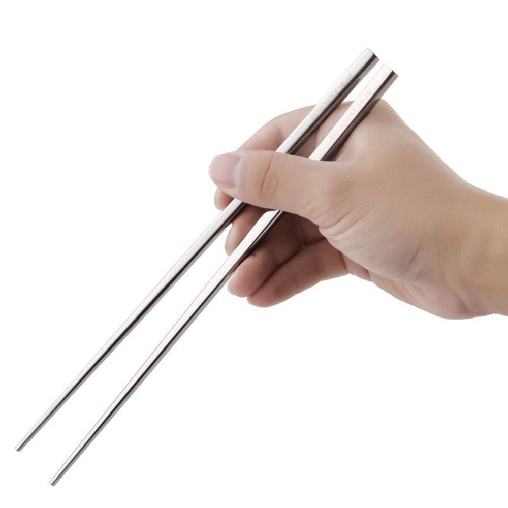 Amazon.com: Chopsticks GGJIN 18-10 Stainless Steel 304 Home ...