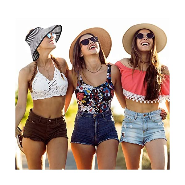 Maylisacc Adjustable Topless Beach Hat