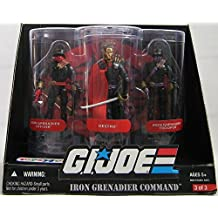 G.I. JOE Exclusive Iron Grenadier Command Action Figure 3-Pack (Destro, Iron Grenadier Officer and Trooper)