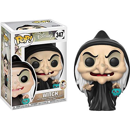 Witch: Disney - Snow White x Funko POP! Disney Vinyl Figure & 1 POP! Compatible PET Plastic Graphical Protector Bundle [#347 / 21730 - B] ()