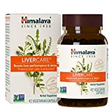 Himalaya LiverCare/Liv. 52 for Liver Cleanse and Liver Detox 375 mg, 42 Count,