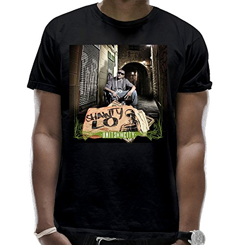 Private Custom Men's Shawty Lo Units in The City Crewneck Classic Short-Sleeves (Shawty Mane)