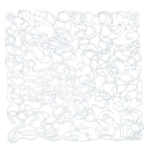 Koziol 2036535 Fusion Room Divider Ornament (Set of 4), Crystal Clear