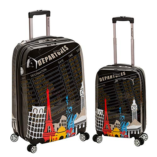 Fun Traveling Theme Suitcases