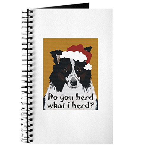CafePress Australian Shepherd Do You Herd Spiral Bound Journal Notebook, Personal Diary, Blank ()