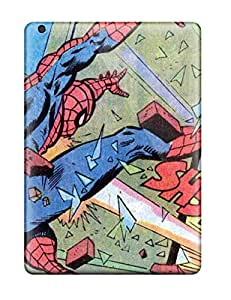 High Grade Flexible Tpu Case For Ipad Air Spider-man