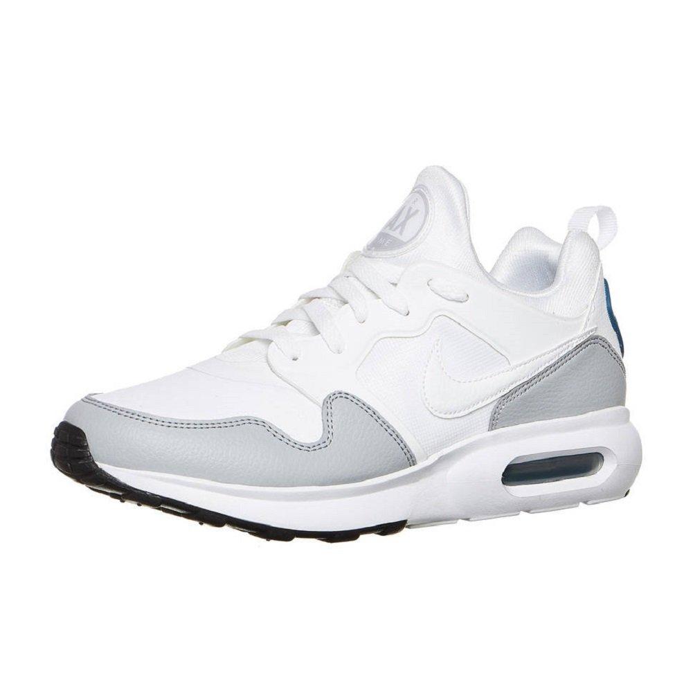Nike Herren Air Max Prime SL Weiszlig; Textil/Synthetik Sneaker  45 EU|Wei? (White/Noise Aqua/Wolf Grey)