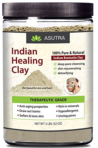 ASUTRA Bentonite THERAPEUTIC Revitalize Cleansing