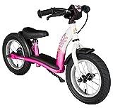 Bikestar 12 Inch (30.5cm) Kids Balance Bike - Running Bike -Classic - Pink...