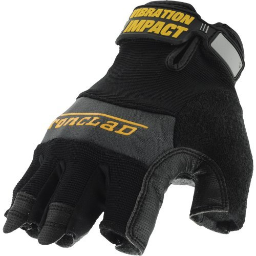 Ironclad MFI2-04-L Mach 5 Impact Glove, Large by Ironclad -