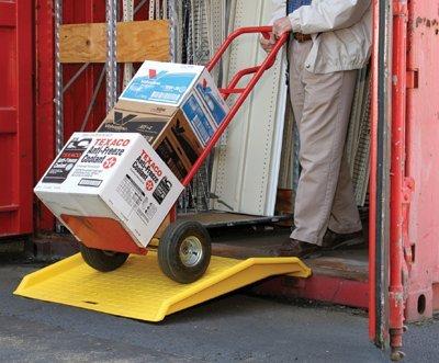 "Eagle 1795CR Polyethylene Shipping Container Ramp, 36"" Le..."